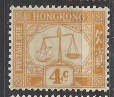 Hong Kong - 1938/63 - Nuovo/new MNH - Segnatasse - Mi N. 7 - Hong Kong (...-1997)