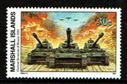 Marshall Islands - 1991 - Nuovo/new MNH - WWII - Mi N. 361 - WO2