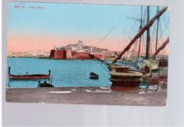 MALTA Isola Point Ca 1915 Old Postcard - Malta