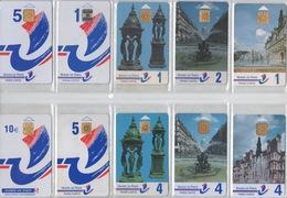 Lot De 30 Cartes De Stationnement PIAF Sans Double : Mairie De Paris - Frankrijk