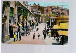 MALTA Valletta Strada Marina  Ca 1915 Old Postcard - Malta