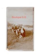 Photo Famille Femme Homme Enfant Garcon Bebe Coiffe Nature 11x7 Cm - Persone Anonimi