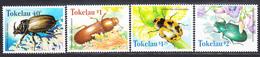 TOKELAU -  1998 - Insectes - Yvert 247/250  Neufs ** (L533) - Tokelau