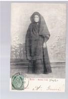 MALTA Maltese Lady 1905 Old Postcard - Malta