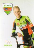 Cyclisme, Tim Merlier - Cyclisme