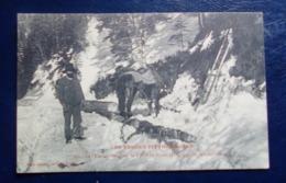 Carte Postale Ancienne - Vosges Pittoresques - Bûcherons Dans La Forêt ( Environs Gerardmer) - Métier - Autres Communes