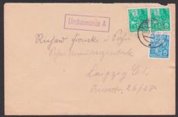 Ueckermünde A K1 Und OSt. , Ückermünde  23.1.58 Fernbrief - [6] Democratic Republic