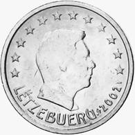 MONNAIE 5 Cents 2002 LUXEMBOURG  Euro Fautée Non Cuivrée Etat Superbe - Errors And Oddities