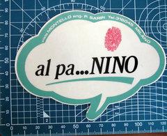 AL PANINO MILANO VINTAGE STICKER ADESIVO NEW ORIGINAL - Pegatinas
