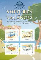France 2020 - Collector - Voitures & Vacances (Mer) - Renault 4 L – SIMCA 1000 – Citroën Méhari – Renault Floride ** - France