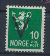 Norwegen 242X Postfrisch 1941 Aufdruckausgabe (9446781 - Noruega