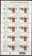 PORTUGAL (Madeira) - EUROPA 2020 - Ancient Postal Routes - Miniature Sheet - Autres