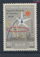 Macau 414 (kompl.Ausg.) Mit Falz 1958 Brüsseler Weltausstellung (9448953 - Macao