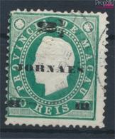 Macau 45A (kompl.Ausg.) Gestempelt 1893 Zeitungsmarke (9448943 - Macao