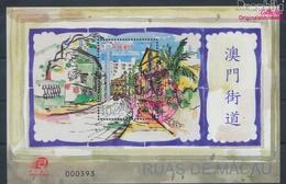 Macau Block146 (kompl.Ausg.) Gestempelt 2006 Straßen In Macau (9448913 - Used Stamps