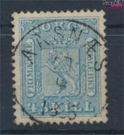 Norwegen 8 Geprüft Gestempelt 1863 Wappen (9449275 - Norwegen