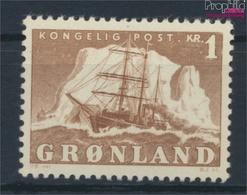 Dänemark - Grönland 35 Postfrisch 1950 Arktisschiff (9448145 - Nuevos