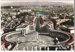 Rom - Panorama Della Cupola Di S. Pietro Von 1956 (3832) - Places & Squares