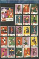 VIVO - CIRCUS 1971  Matchbox Labels THE NETHERLANDS ( CLOWN ) - Matchbox Labels