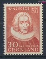 Dänemark - Grönland 42 (kompl.Ausg.) Postfrisch 1958 200. Todestag Hans Egede (9448140 - Nuevos