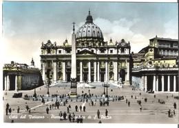 Città Del Vaticano - Piazza E Basilica Di S. Pietro Von 1956 (3833) - Vaticano