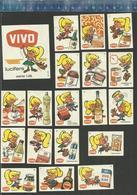 VIVO - ARTIKELEN 1969  Matchbox Labels THE NETHERLANDS - Matchbox Labels