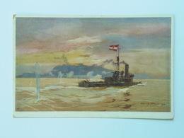 K.U.K. Kuk 1523 Kriegsmarine Marine  Pola S.M.S. SMS  Schiff 1916 Feldpost Viribus Unitis Harry Heusser M. Maravic - Guerra