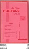 LA Revue Postale Magazine Philatélique  Bimestriel N° 99-100  En 1977 - Magazines