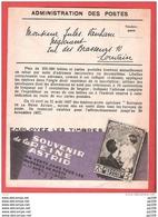 PUB Administration Des Postes  Pour Les TP Reine Astrid  1937  + Au Dos Poste Aérienne  Et PHILIPS ! - Publicités