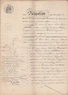 VP 8 FEUILLES - 1854 - OBLIGATION - NANTUA - OULLINS - ST FOY LES LYON - NEYROLLES - GEX - OULLIN - COLLONGES - Manuscritos