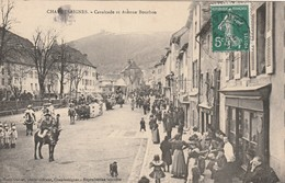 15 CHAUDES AIGUES  CAVALCADE AVENUE BOURBON - Altri Comuni