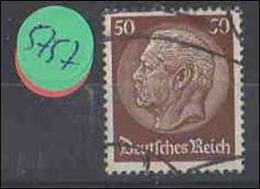 Deutsches Reich   Gestempelt    MiNr. 473 - Deutschland