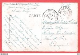 CP Franchise Militaire Territoire Non Envahi Obl ALVERINGHEN 16 IV 1915 Vers Aulnay Sur Mauldre FRANCE - Weltkrieg 1914-18