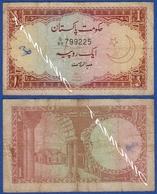 PAKISTAN 1 Rupee 1973 ARCHWAY - Pakistan