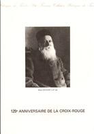 DOCUMENT ENCART FDC 1988 125 ANS DE LA CROIX ROUGE - Documenten Van De Post