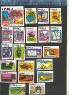 VIVO - VIVOLA  AANBIEDINGEN SERIE 1 - 1972  Matchbox Labels THE NETHERLANDS - Matchbox Labels