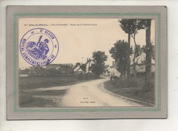 CPA -(45) JOUY-le-POTIER -L'entrée Du Bourg Par La Route De La Ferté-St-Aubin En 1915-Cachet Hôpital Complémentaire N°59 - France