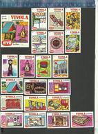 VIVO - VIVOLA  AANBIEDINGEN SERIE 2 - 1973  Matchbox Labels THE NETHERLANDS - Matchbox Labels