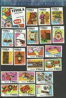 VIVO - VIVOLA  AANBIEDINGEN SERIE 3 - 1974  Matchbox Labels THE NETHERLANDS - Matchbox Labels