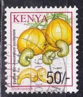 Kenia, 2001 - 50c Cashews - Nr.760 Usato° - Kenia (1963-...)