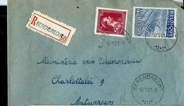Doc. De BERENDRECHT Du 16/01/51 En Rec. - Postmark Collection