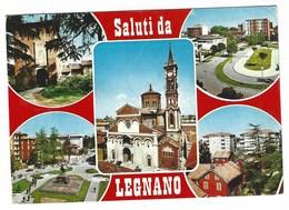 6602 - SALUTI DA LEGNANO 5 VEDUTE 1980 CIRCA - Legnano