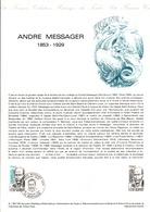 DOCUMENT FDC 1983 ANDRE MESSAGER - Documenten Van De Post