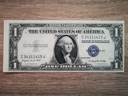 1935-G UNITED STATES SILVER CERTIFICATE $1 (( GEM UNC )) - Certificati D'Argento (1928-1957)