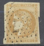 BORDEAUX N°43 10c Bistre Obl ETOILE 7, Très Rare. P5085 - Marcophily (detached Stamps)