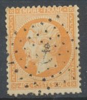 Classique N°23 40c Orange Oblitéré Ancre TB. P5091 - Marcophily (detached Stamps)