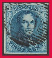 COB N° 4A - Oblitération à Barres - Bien Margé Sur 3 Côtés .Légèrement Touché En Bas à Droite - 1849-1850 Médaillons (3/5)