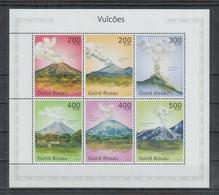 S770. Guine-Bissau MNH - 2010 - Nature - Volcanoes - Vegetales