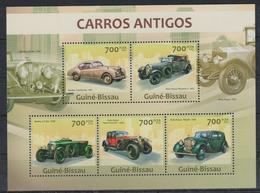V375. Guinea-Bissau - MNH - 2013 - Transport - Cars - Antique - Transports