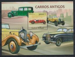 V375. Guinea-Bissau - MNH - 2013 - Transport - Cars - Antique - Bl. - Transports